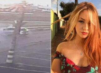 Vídeo mostra momento da colisão que matou a jovem de 19 anos (Foto: Arquivo Pessoal)